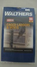 Walthers Cornerstone HO Caged Ladders and Vents Kit #933-3515 New in Box