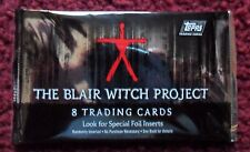Unopened Pack 1999 The Blair Witch Project Movie Trading Cards ~ Heather Donahue