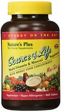 Nature's Plus Source of Life 360 Mini-Tabs Brand New & Sealed