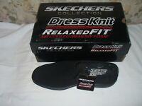 Men's Skechers Walson-Morado Slip On Loafer Black 6.5 M Air Cooled Mem Foam NWB