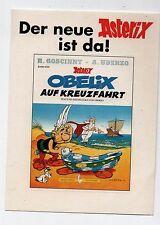 Astérix. Autocollant Obelix auf Kreuzfahrt. 9 x 12,5 cm . La Galère (réf. 70/36)