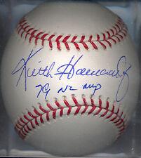 Keith Hernandez St. Louis Cardinals 1979 NL MVP Autographed Signed Baseball COA