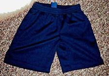MIGHTY MAC BRAND YOUNG BOYS SIZE 4 POLYESTER SHORTS BLUE SPORTS