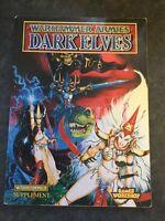 Warhammer Armies Games Workshop DARK ELVES, a Warhammer supplement 1995