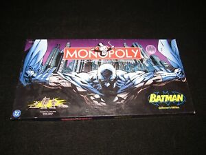BATMAN MONOPOLY - COLLECTOR'S EDITION - rare and OOP - 2005