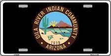 Aluminum License Plate Native American Flag Gila River Indian Community NEW