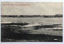 Me Postcard Cape Porpoise Maine Village town view scenic buildings waterway