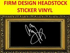 STICKER FIRM WHITE THE JIMMY PAGE LED ZEPPELIN VISIT OUR STORE WITH MORE MODELS