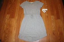 NWT Womens OLIVE & OAK Short Sleeve Style Summer Sun Dress Gray Size S Small