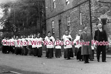 NT 64 -Rogation Day Procession, Grinley On The Hill, Nottinghamshire - 6x4 Photo