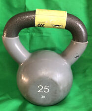 Kettlebell 25lb Gray All In Motion Fast Shipping Has Minor Damage. Great Deal