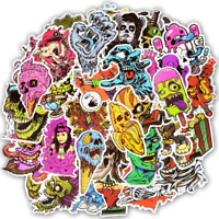 Halloween sticker bomb pack scary horror monsters decals zombies mac laptop car