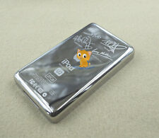 Chrome Metal Back Housing Case Cover fr iPod Color Photo 20GB U2 Special Edition
