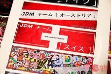 JDM Team SWITZERLAND Decal Aufkleber JAPAN DRIFT Toyota SUPRA T20 Celica GT4