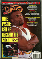 The Ring Boxing Magazine March 1997 Mike Tyson EX 060316jhe