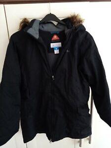 Men's Columbia Omni-heat Black Jacket Size XL