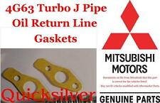 91 94 Eclipse Talon Laser 4g63 Turbo J Pipe Oil Return Line Gaskets OEM New