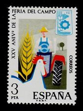 SPAIN  SCOTT # 1888  MNH  AGRICULTURAL TOPICAL