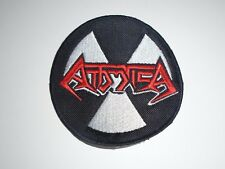 ATTOMICA THRASH METAL EMBROIDERED PATCH