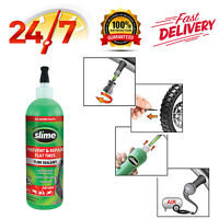 Slime 10004 Tube Repair Sealant, 16 oz. Bicycles, Dirt Bikes, All Tires w/ Tubes