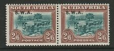 South West Africa 1927-30 2/6d Green & brown SG 65 Mint.