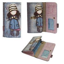 GORJUSS portafoglio donna in eco-pelle stampata violetto 10x19 cm by SANTORO