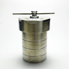 500ml,Lab Hydrothermal Autoclave Vessel With PTFE Chamber Hydrothermal Synthesis