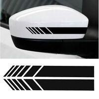 X2-Rétroviseur-Autocollant-Voiture-Bande-De-Course-Pour-Mercedes-Benz