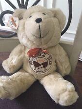 """Wee Win Obedience Brown Bear Vintage Verse Encouragement Plush 15"""""""