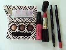 LAURA GELLER 5 PC LOT Lip Liner Eyeliner Lipstick Gloss Eyeshadow NEW $100 Value