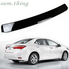 NEW ABS Painted TOYOTA Corolla ALTIS 4D Sedan Rear Roof Spoiler EU Model