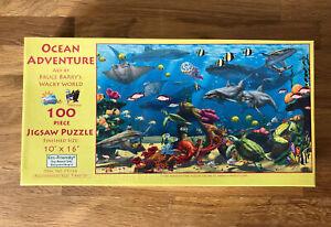 "SUNSOUT Ocean Adventure 100 PIECE JIGSAW PUZZLE 10"" X 16"" NEW"