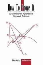 How to Prove It: A Structured Approach, Daniel J. Velleman, Good Book