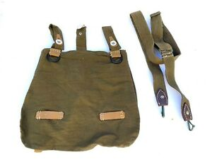 WWII GERMAN M31 BREAD BAG BREAD BAG & STRAP