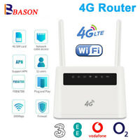 Unlocked CPE LTE 4G Router Smart Home Mobile WIFI Hotspot RJ45 LAN Port European
