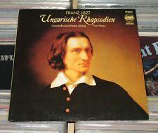 Franz Liszt-LP (VG +) ungherese rhaosodien-GHO Lipsia, Kurt Masur/eterna