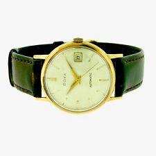 Doxa 18k Rose Gold Automatic Movement Vintage Wrist Watch