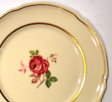 DOLLY MADISON SALAD PLATES BY CASTLETON CHINA - MADE IN USA - 8 INCH PLATE