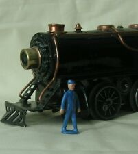 Train conductor walking, 38mm O scale model train layout figure, Reproduction