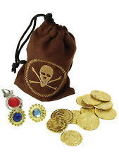 Pièce Pirate sac avec bijoux sac à main pochette Gemmes Anneau accessoire robe fantaisie nouveau