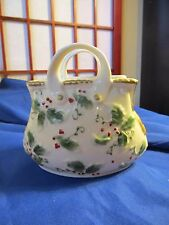 """Ceramic Purse Planter 5"""" Tall And 5 1/2"""" Wide"""