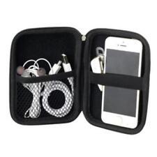Externe Festplattentasche 2,5 Zoll Tasche für Festplatten Schwarz Schutz Hülle