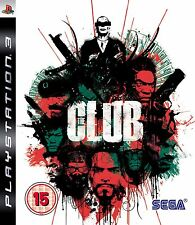THE CLUB PS3 GAME NEW SEALED UK PAL FAST DEL GENUINE