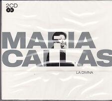 MARIA CALLAS - LA DIVINA on 2 CD'S - NEW - BOXED SET -