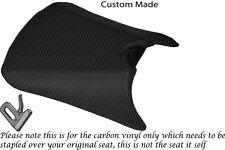 Fibra De Carbono Vinilo Custom Fits Yamaha Tzr 125 Rr delantera cubierta de asiento solamente