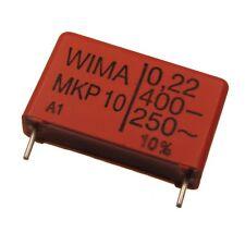 4 WIMA Impulsfester Polypropylen Kondensator MKP10 400V 0,22uF 22,5mm 089719