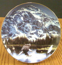 John Van Straalen Portrait of Majesty Spirits of the Wild Ltd. Collector Plate