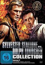 4 Film SYLVESTER STALLONE vs. DOLPH LUNDGREN Collezione SHOOTER Escape Box DVD