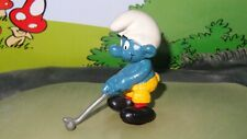 Smurfs Golf Club Smurf Golfer Sports 20055 Rare Vintage Display Figurine