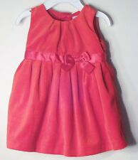 CARTER'S Size 6 Months Red Microfleece Fully-Lined Sleeveless Dress
